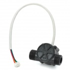 YF-S201 Water Heater Cold Water Sensing Flow Transducer Meter - Black