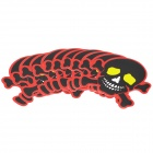 Fashion Skull Head Style Car Decorative Sticker - Black + Red + Yellow + White (10 PCS)