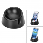 Universal Novelty Flexible Plastic Holder Stand for Iphone / Samsung + More - Black