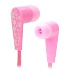 Sibyl M-165 Bowknot Style In-Ear Earphone - Pink + White
