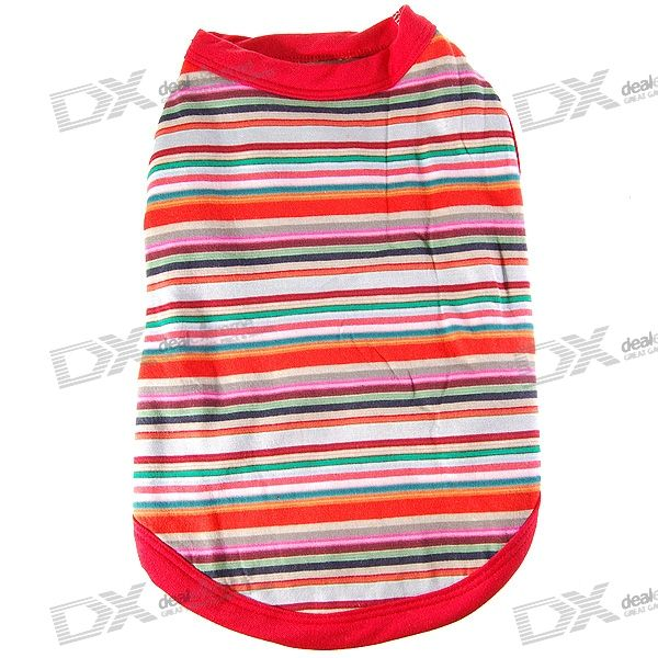 Trendy Stripe Winter Clothing for Dogs/Cats (Size-M)