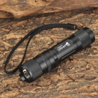 UltraFire K10 250lm 6-Mode Memory White Flashlight - Black (1 x 14500)