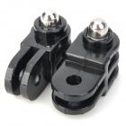 Miniisw M-MH 2~3 Way Parallel + Vertical Axis Hinge Mount Adapter for Gopro Hero 4/ 3/3+/Hero 2/SJ4000