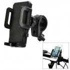 360 Degree Rotational Plastic Bicycle Mount Holder for Cell Phone - Black