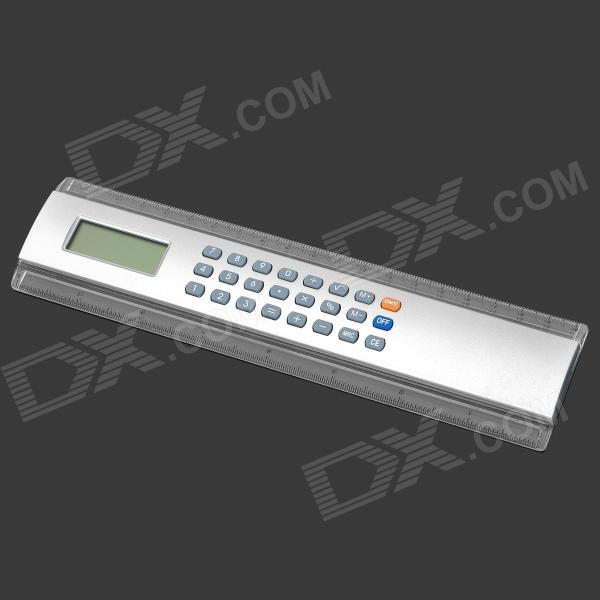 Novelty 2-in-1 8 Digits Ruler + Calculator w/ 1.55