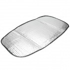 Motorcyle Sun Shading Heat Insulation Saddle Seat Cushion Pad - Silver (63 x 37cm)