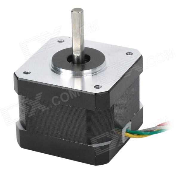 gzgw09 3d printer 4 wire stepper motor silver black