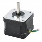 GZGW09 3D Printer 4-Wire Stepper Motor - Silver + Black