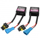 HID Xenon Lamp Error Warning Canceller Capacitor Decoder - Black + Blue (9~16V / 2 PCS)