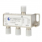 5~2450MHz 1-in 3-out Distributor for SATV - Silver White