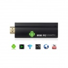 Auxtek T004 Android 4.0.4 Google TV Player w/ 512MB RAM / 4GB ROM / TF / Wi-Fi / HDMI - Black