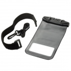Naturehike-NH FSD0001 Ultra-Slim Universal Cell Phone Waterproof Bag - Black