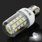 E27 5W 450LM 6000K 28-LED White Corn Light Bulb (85-265V)