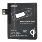 Metrans MWR01 Wireless Charger Receiver for Samsung Galaxy Note 2 / N7100 - Black