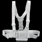 Adjustable Chest Strap Mount Belt for GoPro HD Hero 1 / 2 / 3 / 3+ / SJ4000 - White