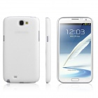 ENKAY Plastic Case Back Cover for Samsung Galaxy Note 2/ N7100 - White