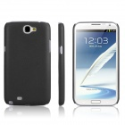 ENKAY Plastic Case Back Cover for Samsung Galaxy Note 2/ N7100 - Black