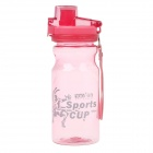 YAQI YQ-006 PC Material Anti-Breaking Cup w/ Strap - Pink (550mL)