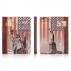 ENKAY Protective PU Leather Case for Ipad 2 / 4 / the New Ipad - Picture Color