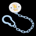 Rikang RK-3337 Baby Appease Nipple Chain - Blue + White