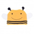 Cute Honeybee Cartoon Style Baby Hat Cap - Yellow + Black + White
