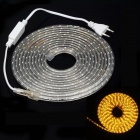 ZIYU JB01 18W 2100lm 300-SMD 3528 Yellow Light Strip (5m / 220V / EU Plug)