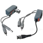 CCTV via Cat-5 Twisted Pair Audio/Video/Power Balun Transceivers (Pair)