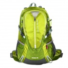 HASKY CY-2320-4 Outdoor Mountaineering Hiking Nylon Backpack - Green + Grey (40L)