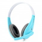 Cosonic CT-650 Fashion Headphone w/ Mic - Blue + White + Grey