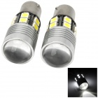 1156 12W 324lm White Car Steering Light w/ 12-SMD 5050 LED + 1-Cree XP-E R3 (12V / 2 PCS)
