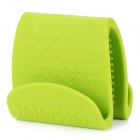 Kitchen Microwave Oven TPE Heat Insulation Clip - Green