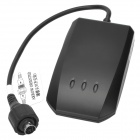 TLT-2F 850/900/1800 / 1900MHz del coche GPS / GSM / GPRS impermeable vehículo Tracker - Negro