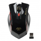 RAJFOO G5 USB 2.0 Wireless Gaming Optical Mouse - Schwarz