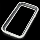 Vser Protective Plastic Bumper Frame for Samsung Galaxy Grand Duos i9082 - White + Transparent