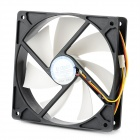 12cm ABS Chassis Cooling Fan - Black + White