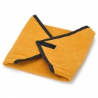 Anti-Shock Cloth Bag for Ipad / DV / Camera - Yellowish Orange + Black (40 x 40cm)