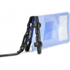Naturehike-NH Waterproof Case for Touch Cellphone - Blue + Black