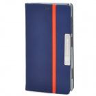 NILLKIN Fashion Protective PU Leder Flip-Open Case für Nokia Lumia 720 - Blau + Orange