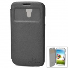 NILLKIN  Fashion View Flip-Open Style PU Leather Case for Samsung Galaxy S4 i9500 - Black