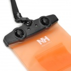 Naturehike-NH FSD0001 Waterproof Protective ABS + PVC Case for Touch Cellphone - Orange + Black
