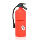 Fire Extinguisher Shaped USB 2.0 Flash Drive - Red + Black (4 GB)