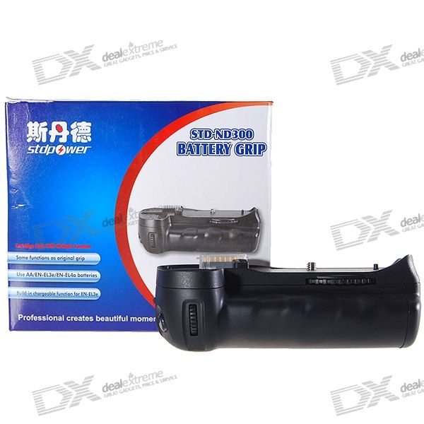 Vertical Battery Grip for Nikon D300 Digital SLR Camera