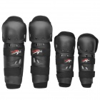 PRO-BIKER HX-P01 Motorcycle Racing Elbow / Knee Protectors Guards Set - Black