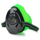 N3800 360 Degree Anti Dust Respirator - Black + Green