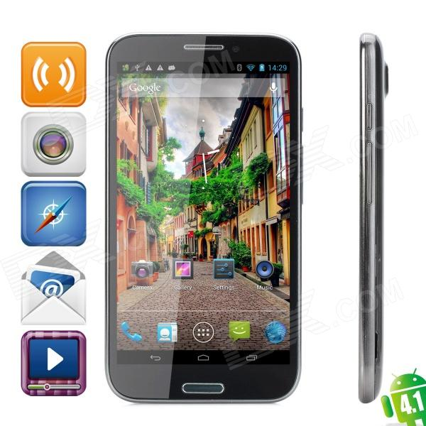 "CAESAR  A9800 Quad-Core Android 4.1 WCDMA Smartphone w/ 5.7"" Capacitive Screen, Wi-Fi and GPS"
