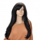 DIR-012 Fashion Synthetic Fiber Long Fluffy Hair Wigs - Black
