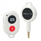 Creative Wireless Camera Remote Control Shutter Release w/ Recording for Iphone + More - White
