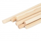 DIY Wood Stick for Building Scaled Model - Wood Color (10 PCS)