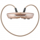 ZONPKI Z-B97 Sport Bluetooth V3.0 + EDR Stereo Headphone - Black + Light Brown