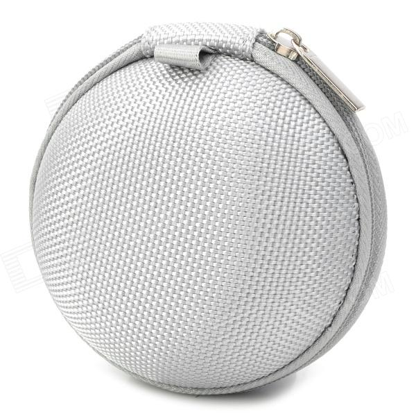Bolso protector impermeable para auriculares - plata